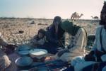 Fresh camel's milk for breakfast