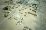 Haima tribal centre aerial shot 1981